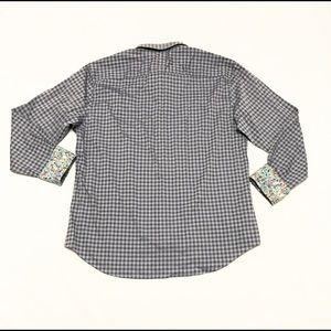 Bugatchi Shirts - Bugatchi Uomo Long Sleeve Button Shirt Shaped Fit